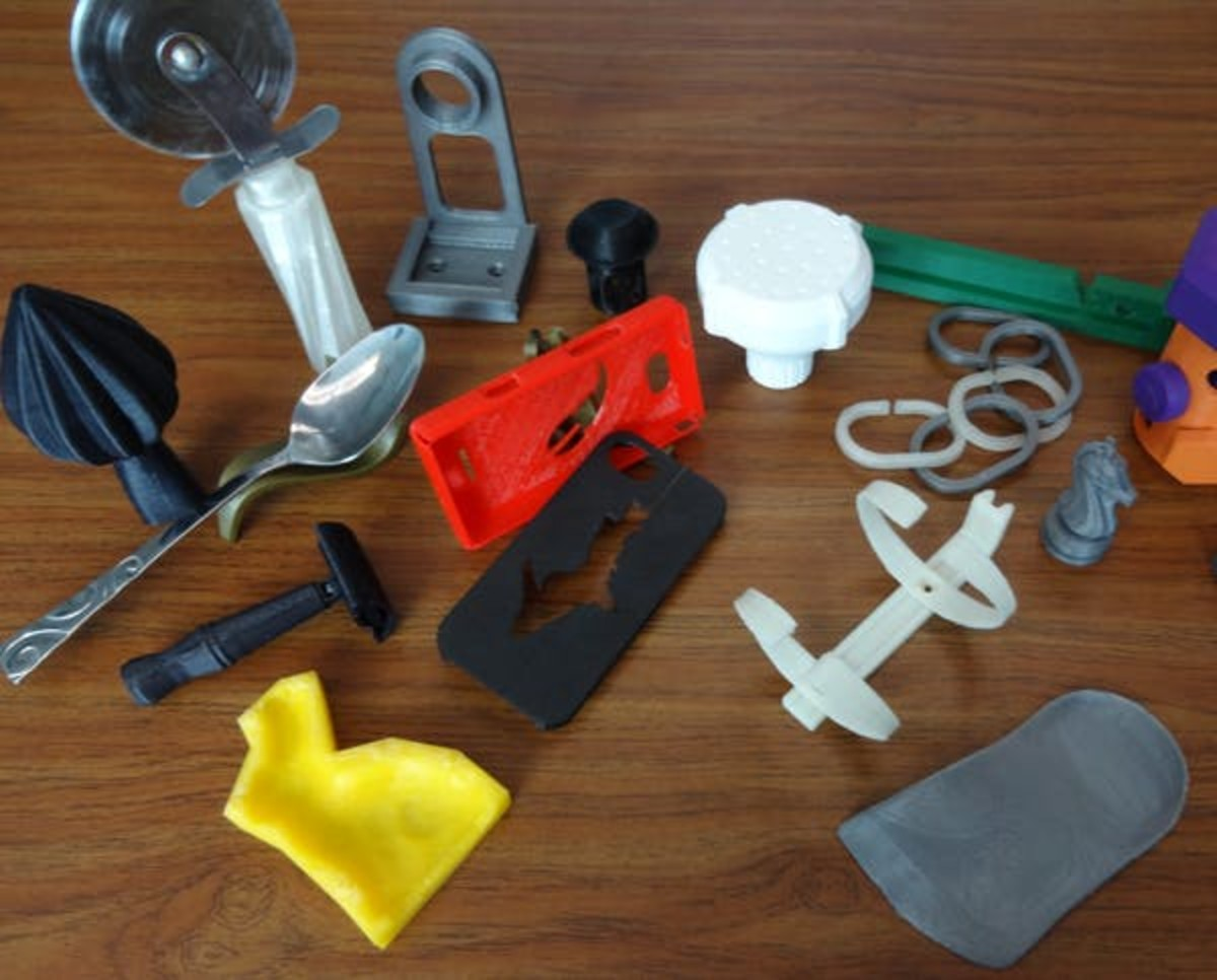 A sample from the thousands of items that can be 3D printed from free designs. Joshua Pearce, CC BY-ND