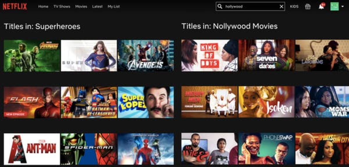 The Netflix business model is based on movies and series that appeal to wide audiences, as well as niche categories. Photo Illustration/The Conversation, CC BY-NC