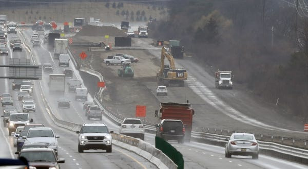State highway departments do the construction, but much of the money comes from the federal government. AP Photo/Carlos Osorio