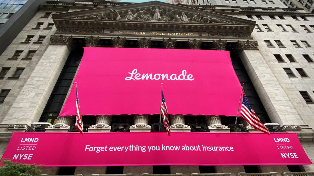 Lemonade Shares Surge in Insurtech's Wall Street Debut
