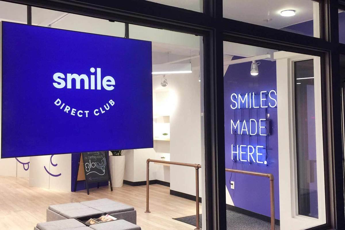 Figure 1: SmileDirectClub office.