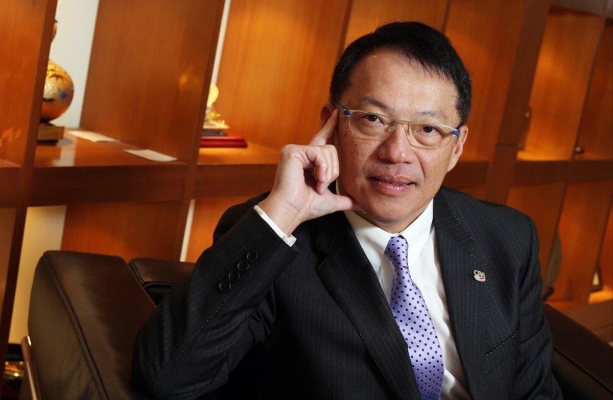 Clement Chan Kam-wing, president of Hong Kong Institute of Certified Public Accountants, on 19 December 2013. Photo: SCMP