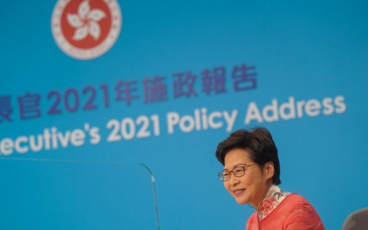 Hong Kong Leader Carrie Lam Promises To Keep Northern Metropolis Construction Costs Under Control