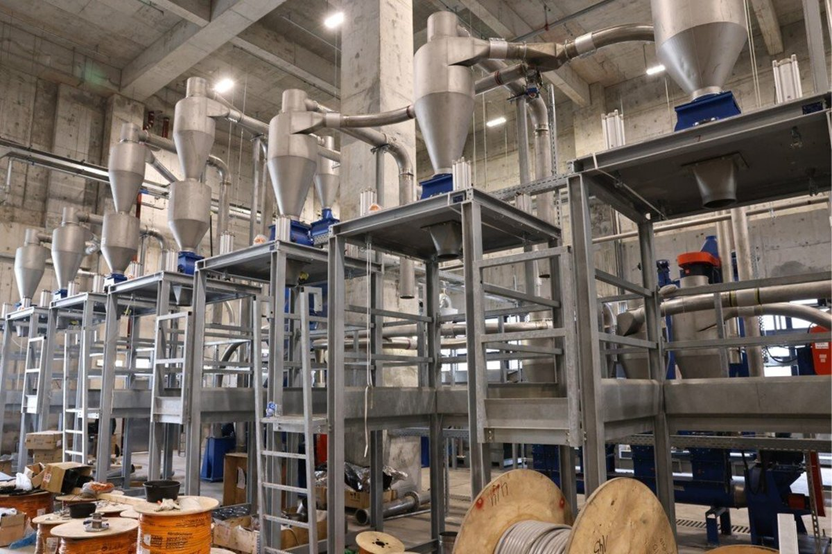New Life Plastic's recycling plant in Tuen Mun expects 75 per cent to 85 per cent of its throughput to consist of polyethylene terephthalate drinks bottles. Photo: K Y Cheng