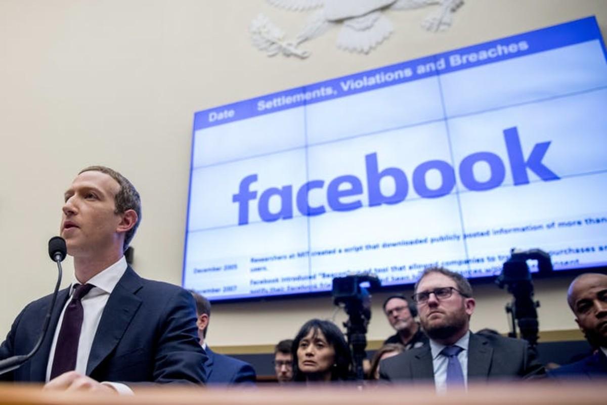 Zuckerberg controls almost 60% of Facebook through class B shares. AP Photo/Andrew Harnik