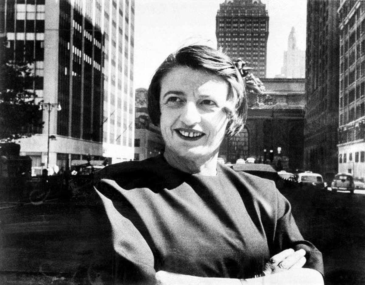 The writings of Ayn Rand are revered by many tech titans. AP Photo