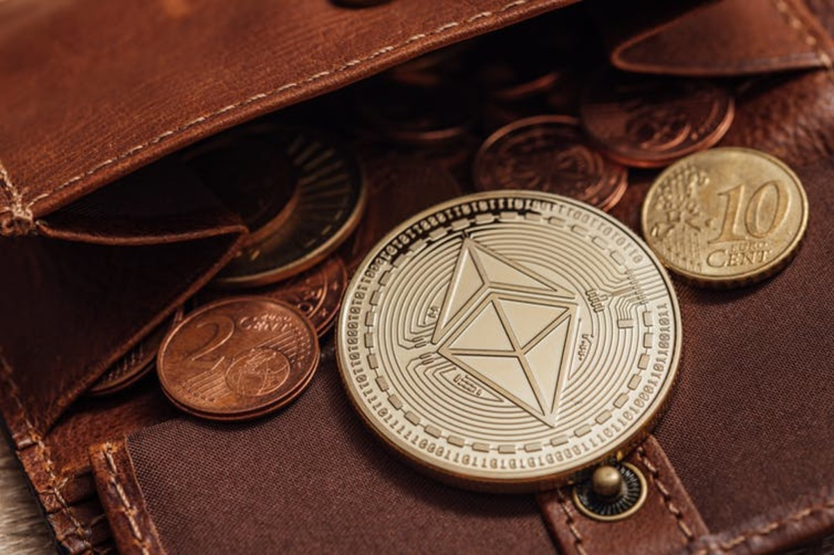 The first NFTs were made using the cryptographic technology underlying the Ethereum cryptocurrency. Ivan Radic/Flickr, CC BY