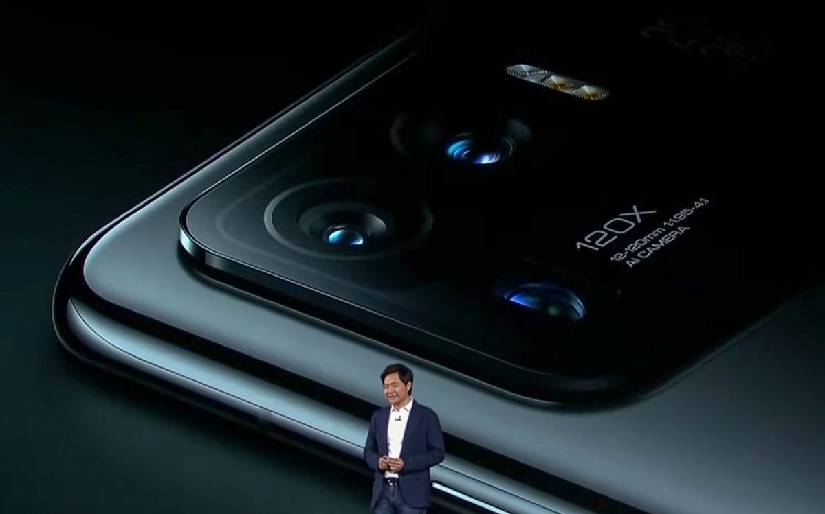 Xiaomi founder and CEO Lei Jun attends a launch ceremony of the company's latest flagship smartphone in Beijing, China, on March 29, 2021. Photo: Handout