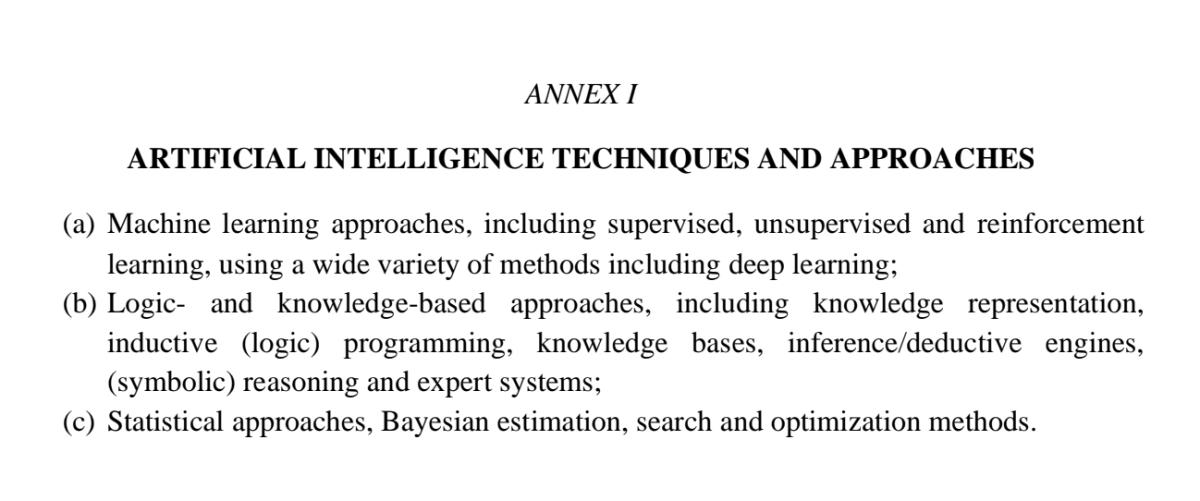 EU Artificial Intelligence regulation