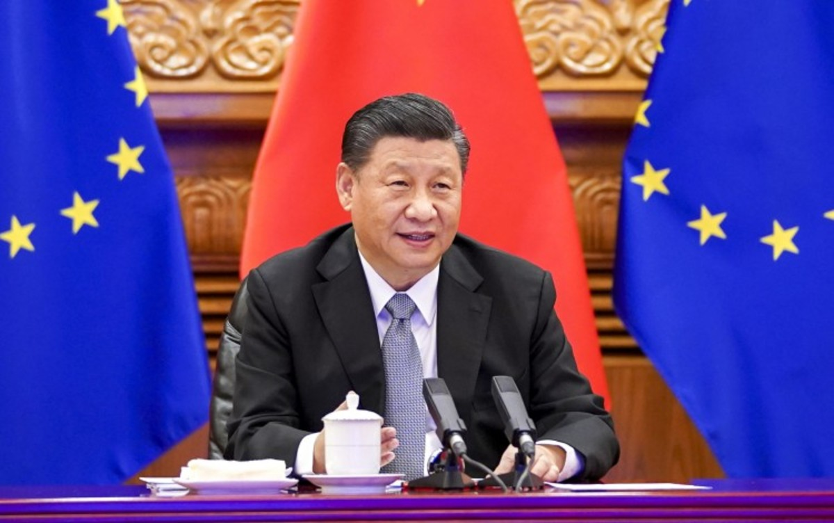 Macron And Merkel Hope Climate Talks With Xi Can Help Take Sting Out Of China-EU Tensions