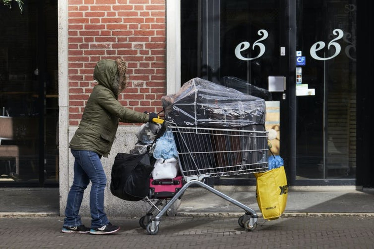 Homelessness and lack of affordable housing are the main problems dragging down well-being in the Netherlands today. Pierre Crom/Getty Images