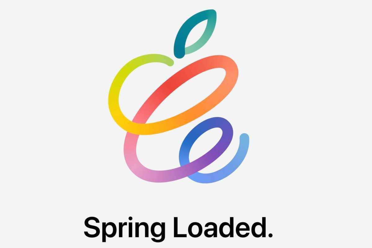 Figure 1: Apple's Spring Loaded event logo.