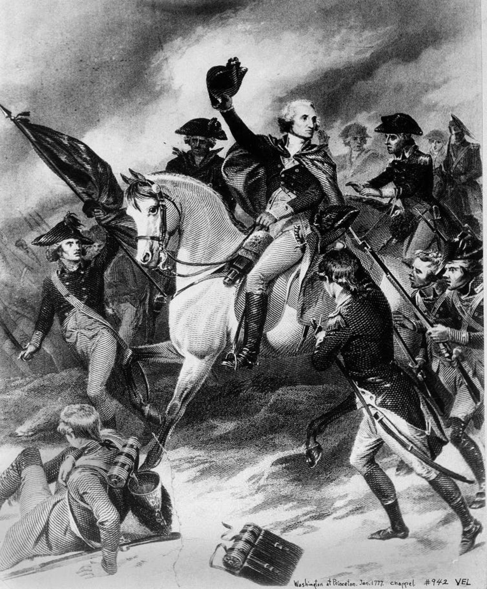 George Washington thought financial speculators would ruin the country. AP Photo