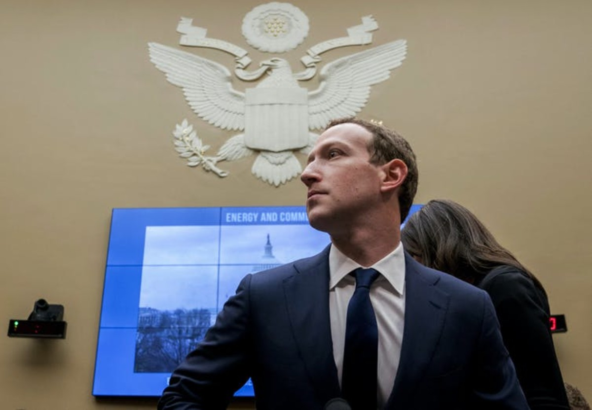 Zuckerberg may still face political blowback because of the Oversight Board's decision. AP Photo/Andrew Harnik
