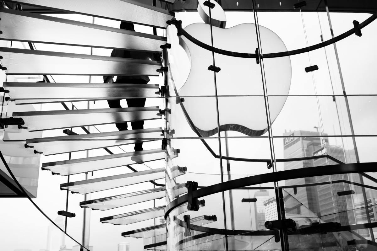 Figure 1: Apple store in Hong Kong.