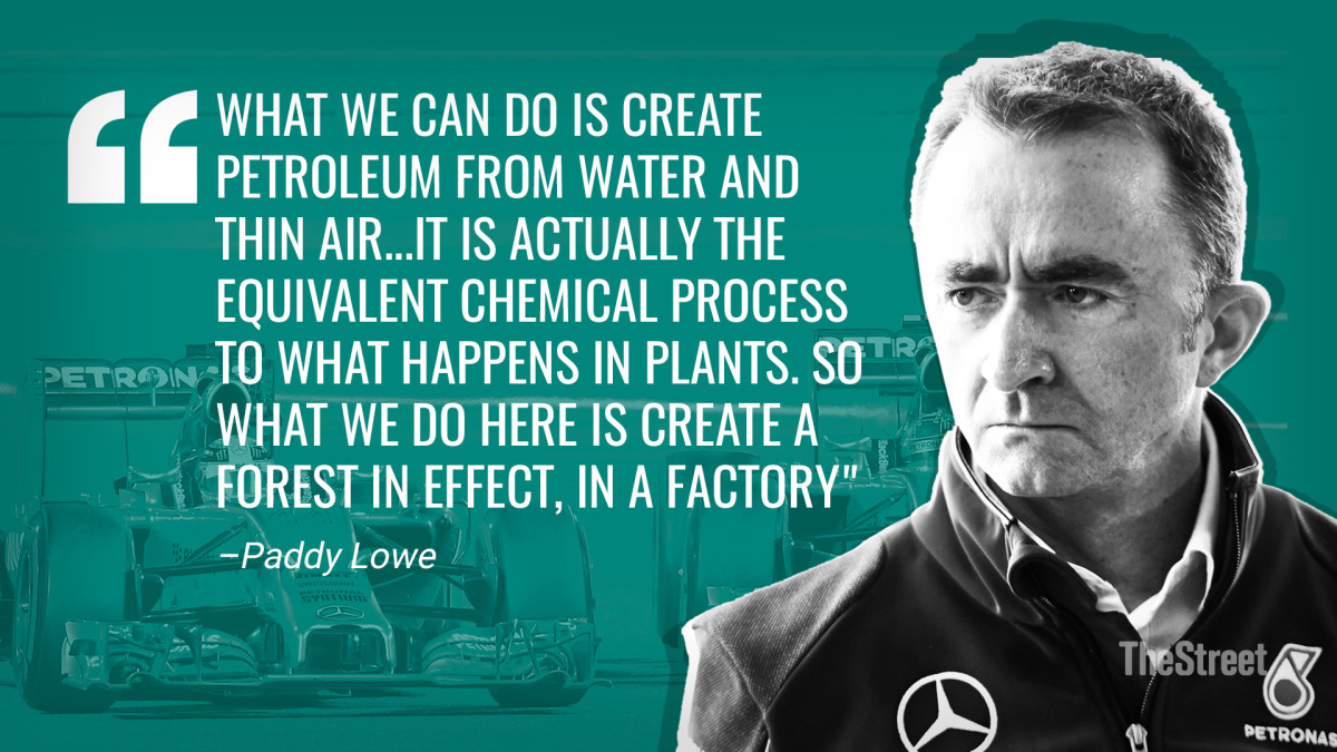 Paddy Lowe Quote