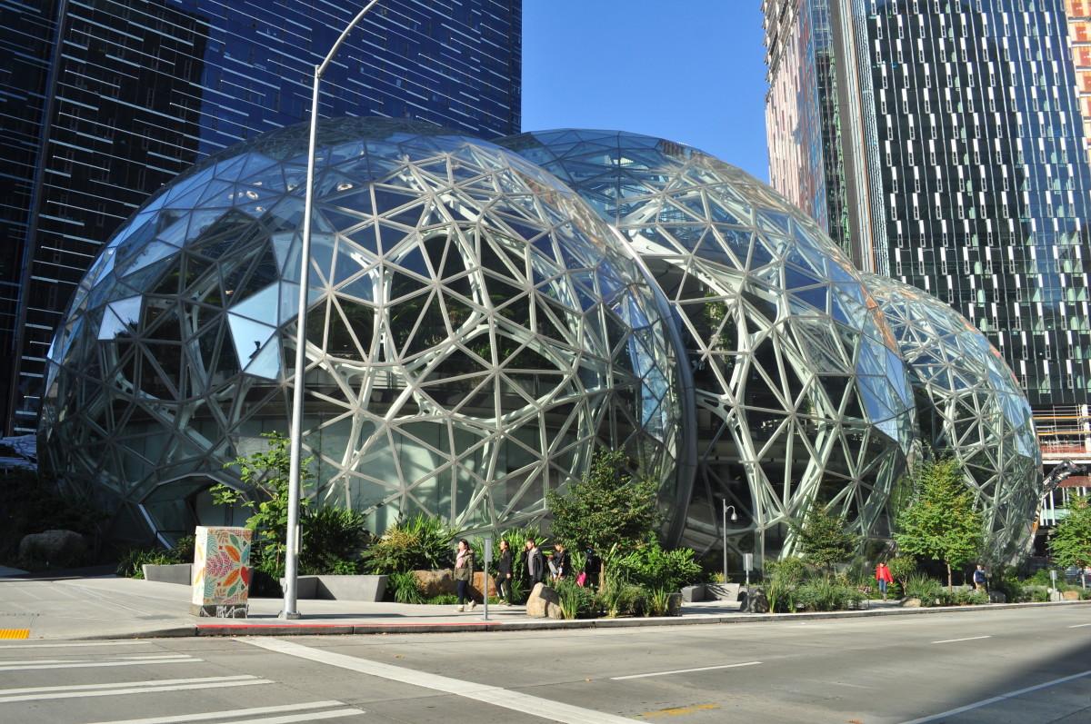 Figure 1: Amazon's HQ in Seattle, WA.
