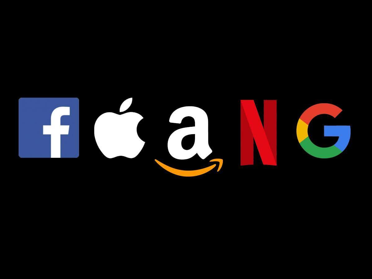 "Figure 1: Big tech ""FAANG"" group."