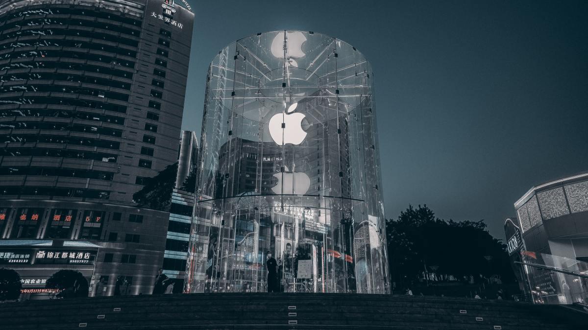 Figure 1: Apple store in Shanghai.