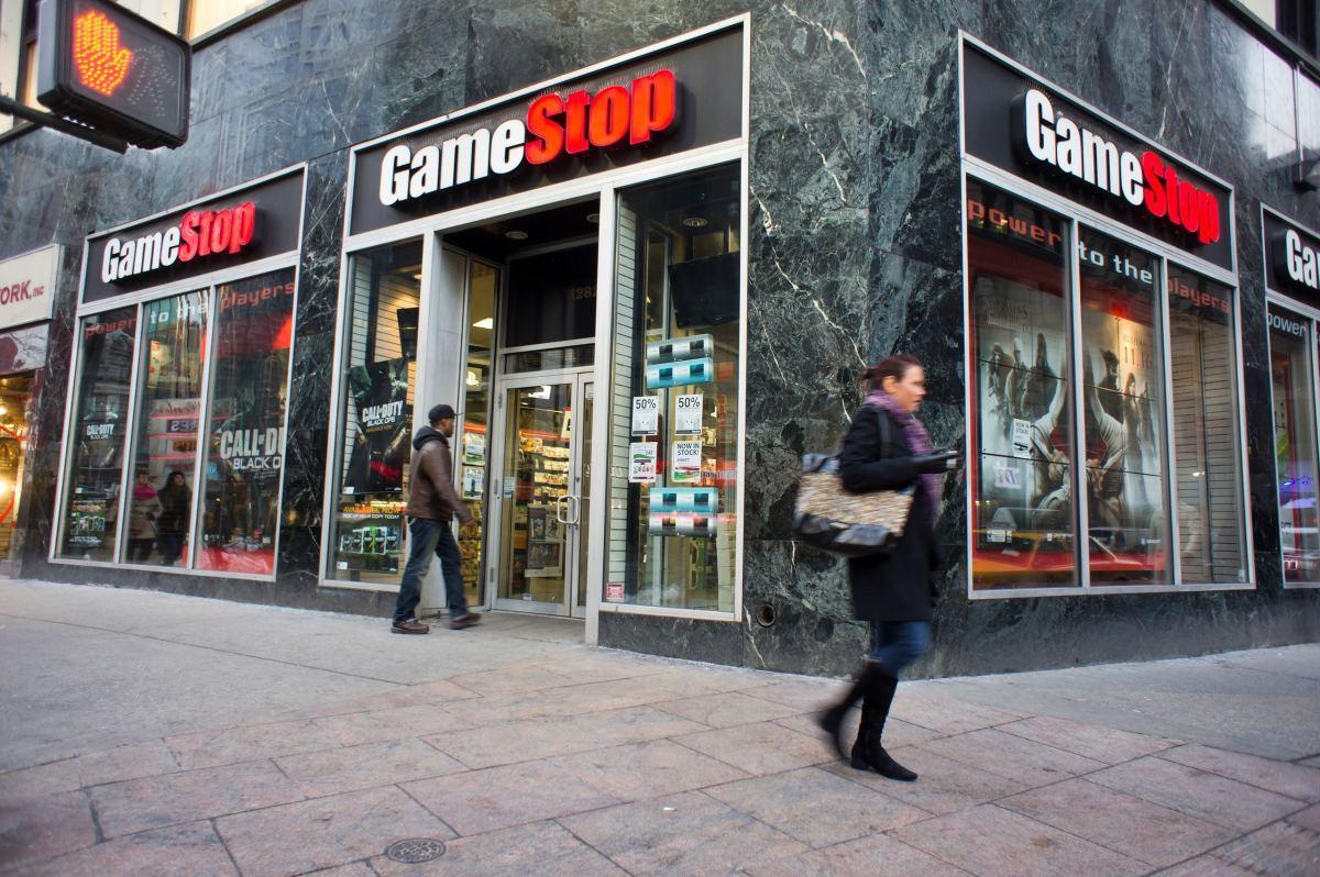 Figure 1: GameStop store.