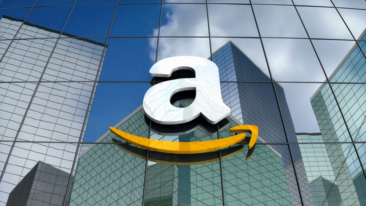 Figure 1: Amazon's logo.