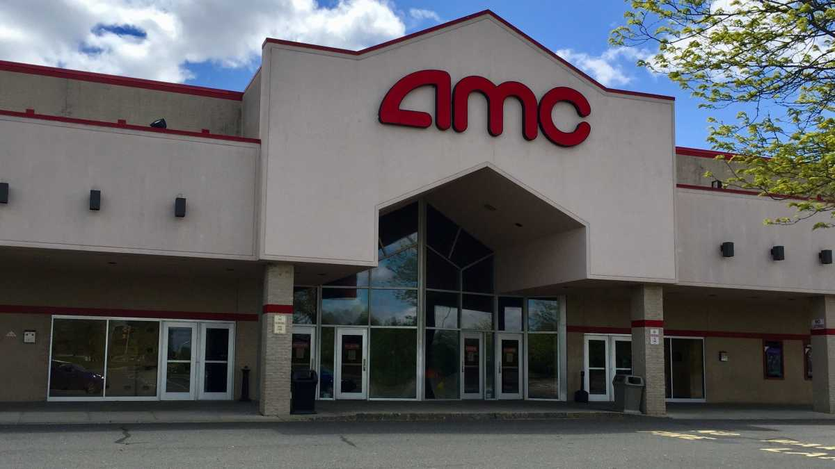 Figure 1: AMC theater during a lockdown.