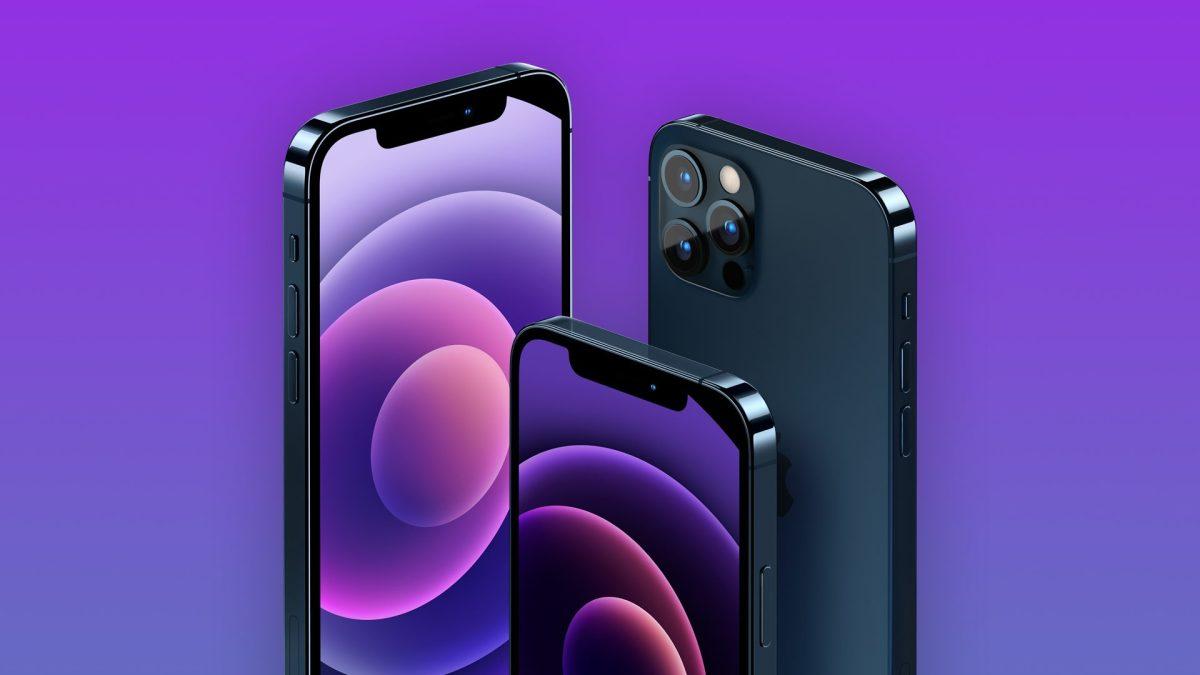 Figure 1: iPhone 12 purple version.