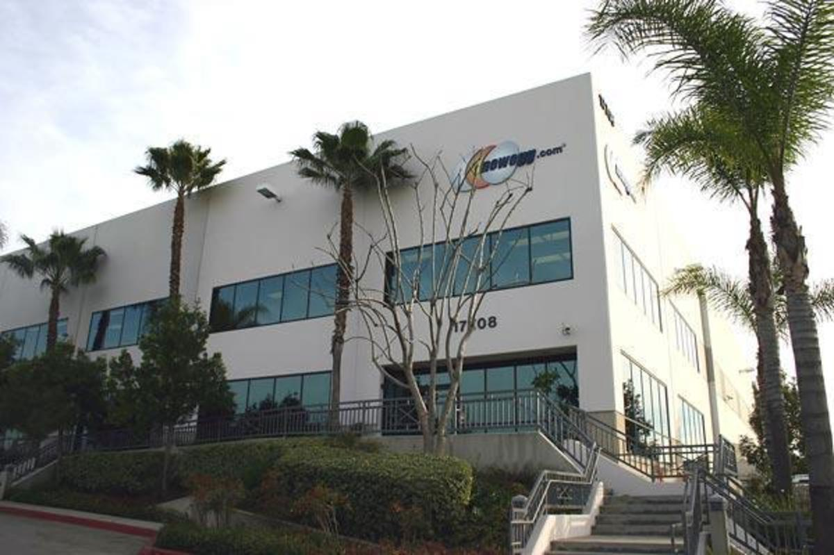 Figure 1: Newegg HQ in City Of Industry, CA.