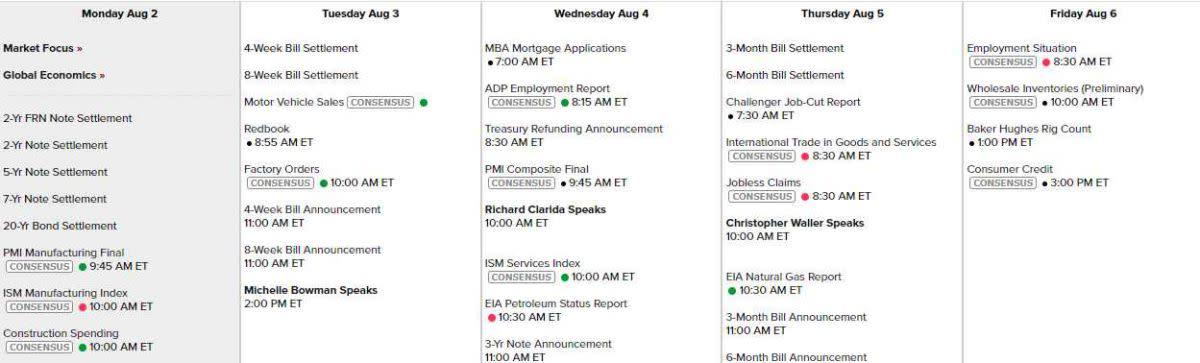 Calendar Aug 2 2021