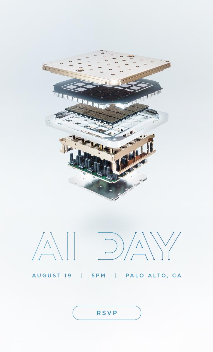 Tesla AI Day invitation