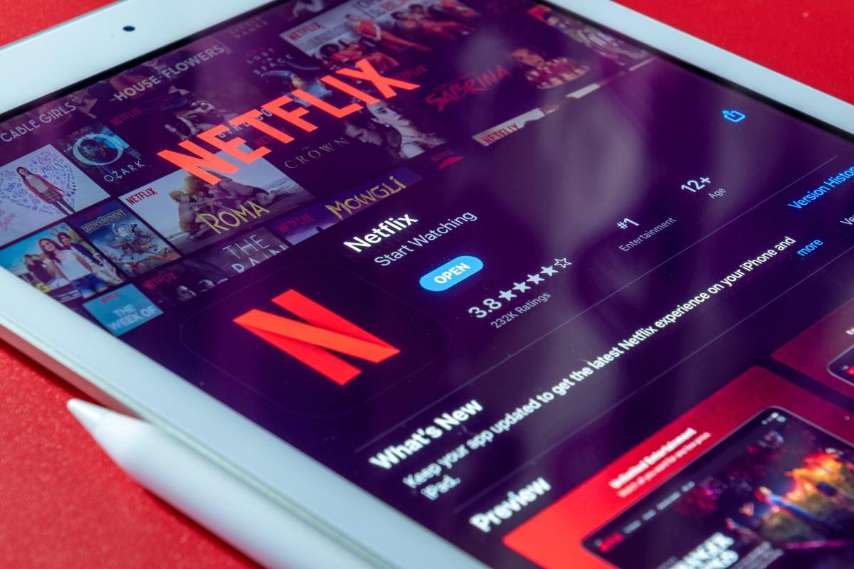 Figure 1: Netflix app.