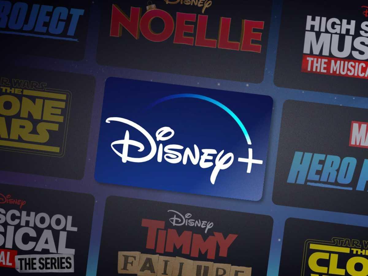Figure 1: Disney+ logo.