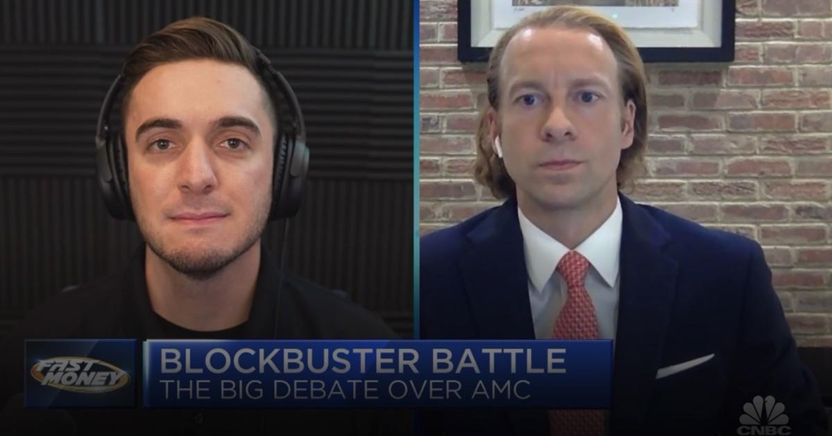 Figure 1: Matt Kohrs and Chad Beynon on CNBC's Fast Money.