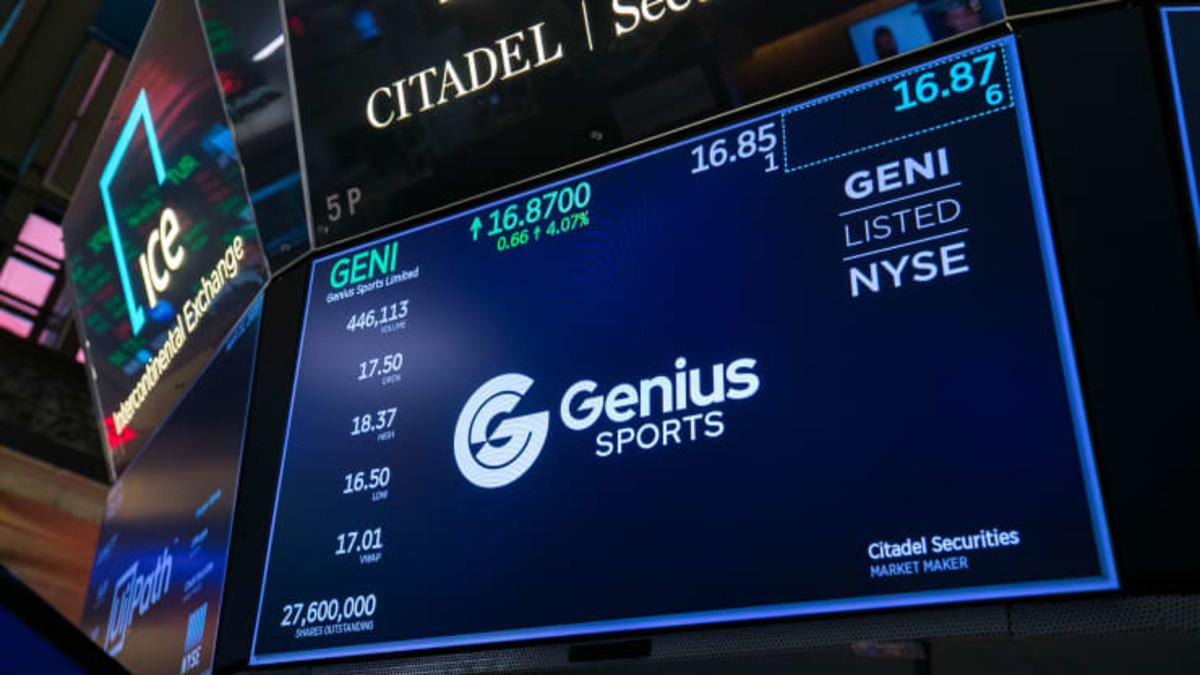 Figure 1: Genius Sports on NYSE.