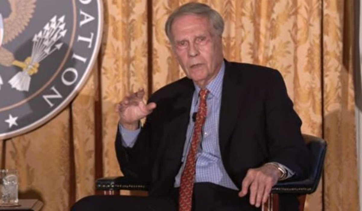 Winston Lord, a former US ambassador to China, contends that efforts to screen out Chinese students and researchers in the US run counter to broader policy goals. Photo: YouTube