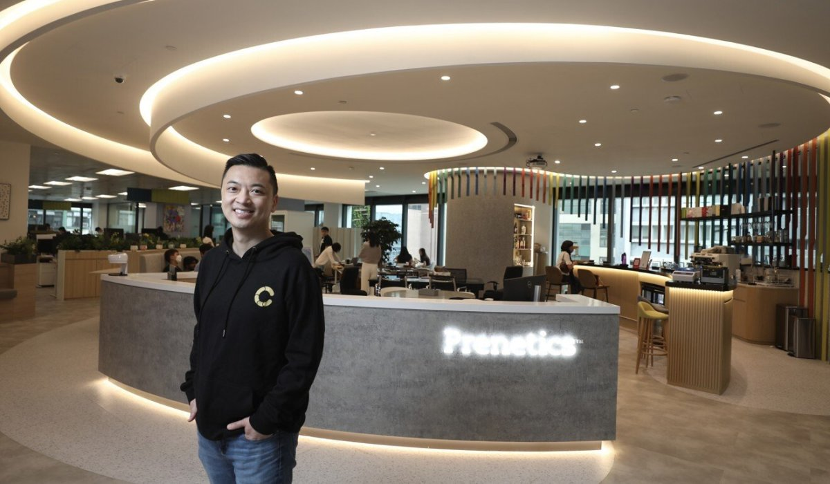 Danny Yeung Sheng-wu, chief executive officer and co-founder of Prenetics Group, photographed at his office in Quarry Bay. Photo: Xiaomei Chen