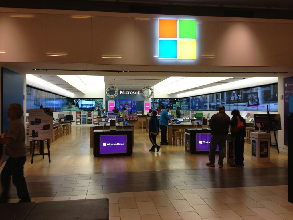 Is Your Local Microsoft Store Empty This Weekend? - TheStreet