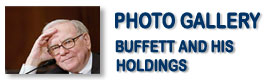 Buffett and His Holdings