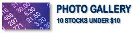 10 Stocks Under $10