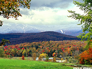 Green Mountain Country Turns Colors